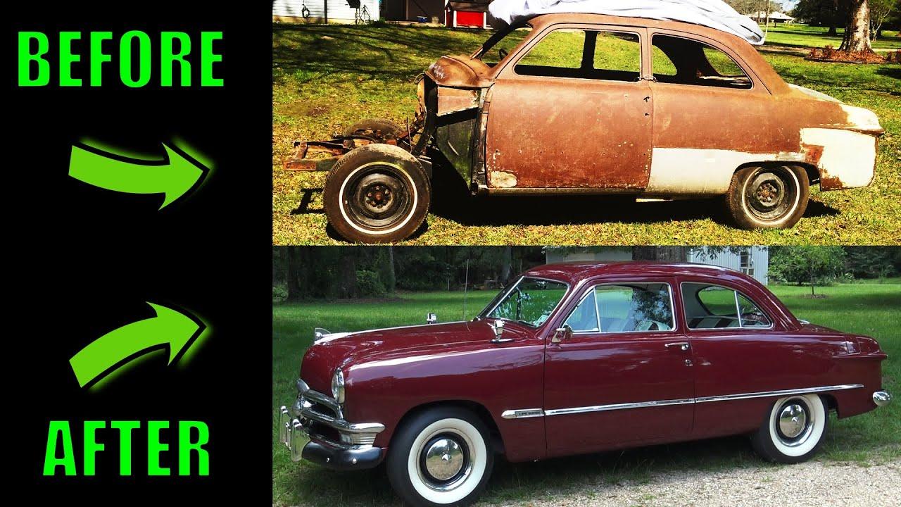 1950 Ford Custom Build - Shoebox - Start To Finish