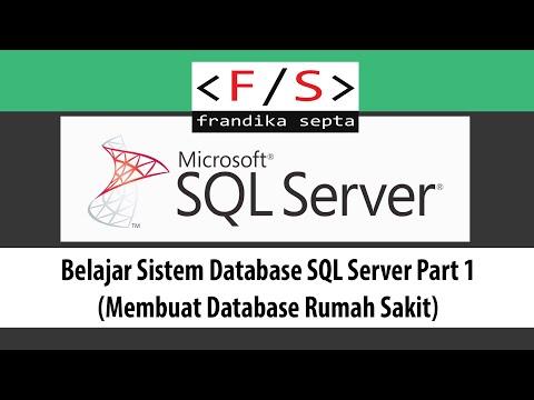 Belajar Sistem Database SQL Server Part1 (Membuat Database Rumah Sakit)