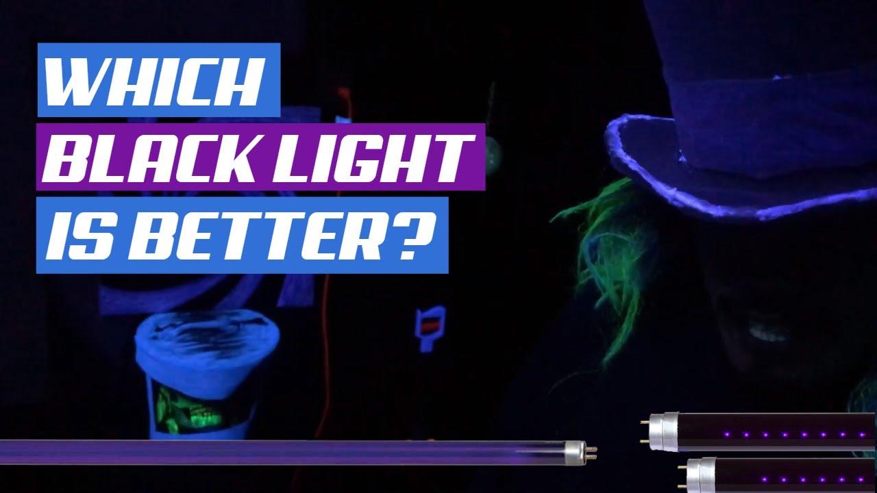 Download UV LED vs Fluorescent Black Light 2020