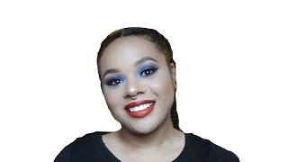 Amandla Stenberg Cover Art Inspired Makeup Look
