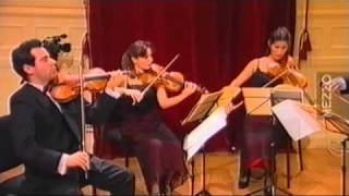 ConTempo Quartet, Beethoven string quartet op.132 /1, LIVE Theatre Chatelet, Paris, France