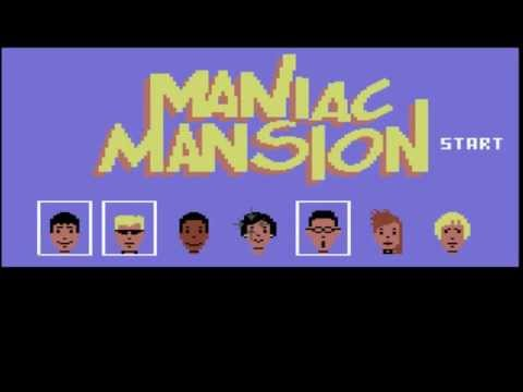 Let's Play: Maniac Mansion (C64) part 1: Heroes to the Rescue!