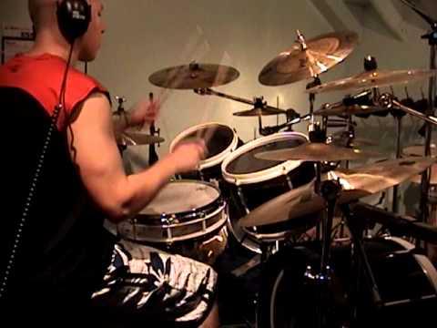 Epic Orchestral Metal! Luke Snyder Recording Drums