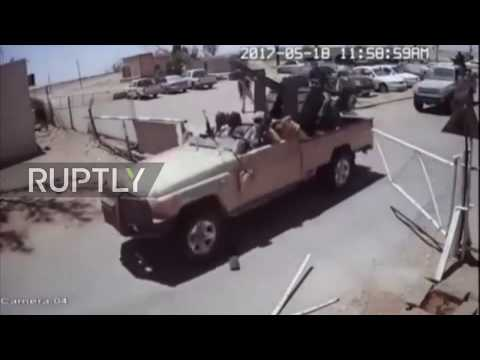 Libya: Brak al-Shat airbase attack that left 141 people dead captured on CCTV