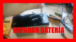 Reparar batería de un sai