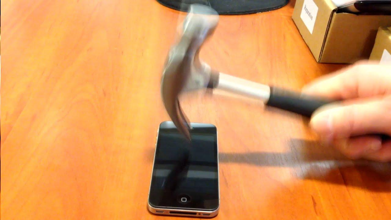 Test af Kristall Nano - Testing Kristall Nano Liquid Screen Protector - YouTube