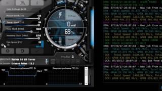 Gigabyte RX570 Gaming 4g - 27 Mh/s разгон без прошивки