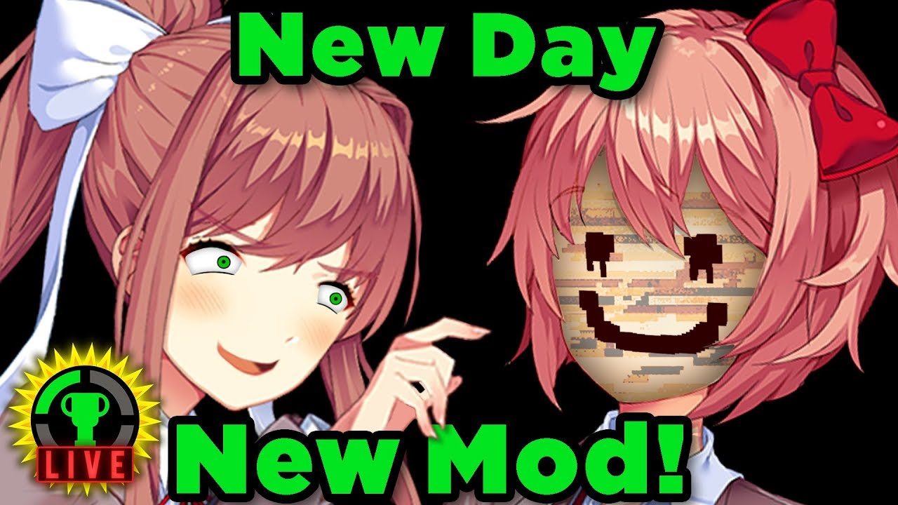 It S A Brand New Monika Doki Doki Literature Club Mod A Brand New Day Youtube