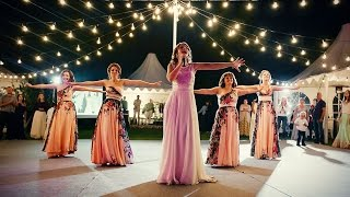 Танец невесты и подружек! Лучший сюрприз для жениха!