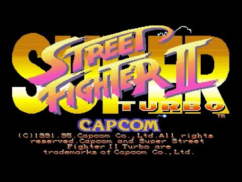 [DOS] SUPER STREET FIGHTER II Turbo