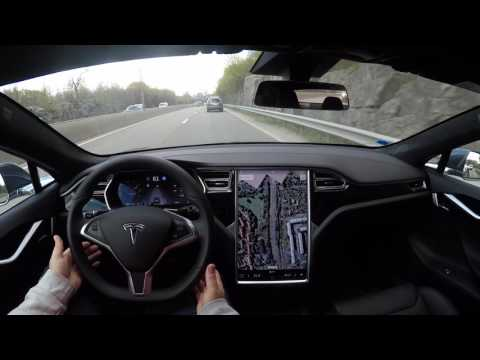 Mixed results on mixed roads test run with Tesla Model S HW2 SW 8.1 FW 17.17.4