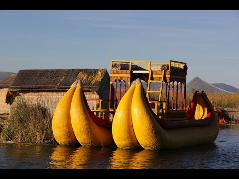PERU - UROS - FLOATING ISLAND ON LAKE TITICACA (FULL HD)