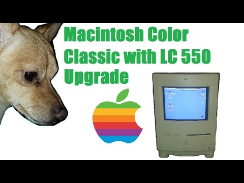Macintosh Color Classic with LC 550 upgrade