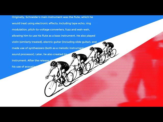 Tour de France Tribute to Florian Schneider