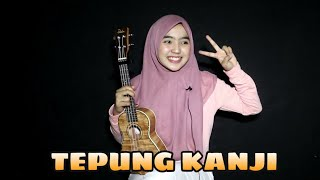 AKU RA MUNDUR (TEPUNG KANJI) Syahiba saufa ft. James AP cover ukulele by adel angel
