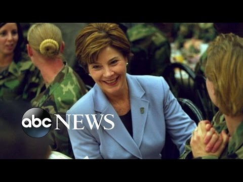 Michelle Obama, Laura Bush Team Up for Veteran Families