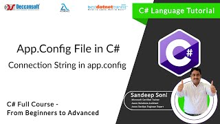C# tutorial for beginners - App.Config Configuration in C# Mp3
