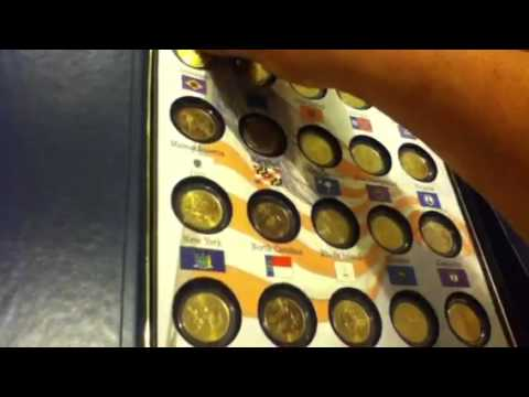 50 state Gold quarters