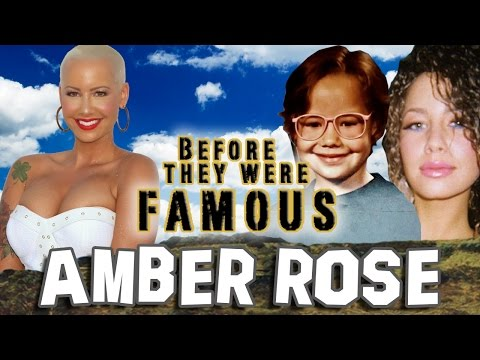 AMBER ROSE – Before They Were Famous – BIOGRAPHY