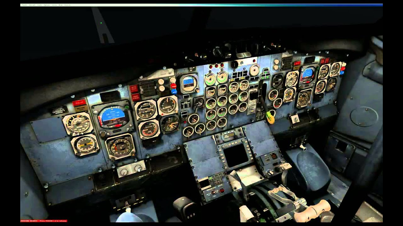 MILVIZ flight simulations - 737-200 Combi