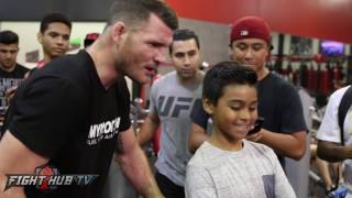 Michael Bisping to fans