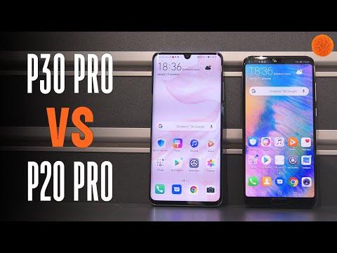 P30 Pro VS P20 Pro: тест камер и производительности! | COMFY