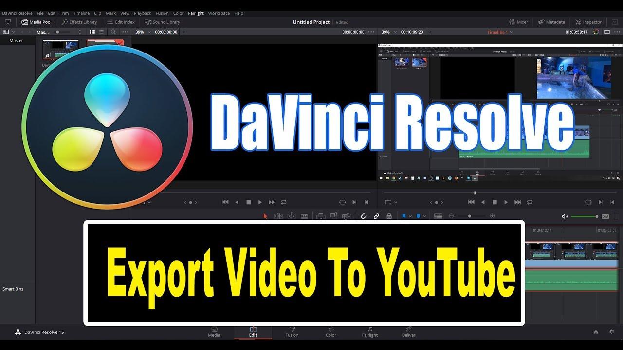 exporter video youtube sur mac
