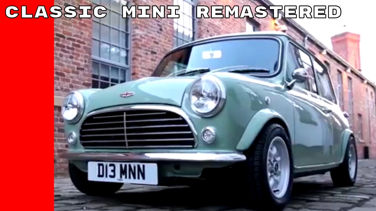 Classic Mini Remastered By David Brown Automotive Youtube