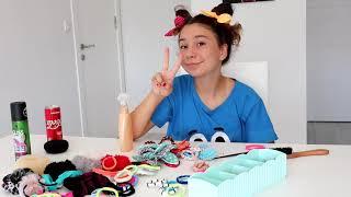 Okul İçin Kolay Saç Modelleri - Eğlenceli  Video