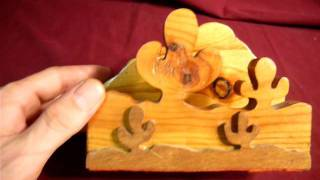Ebay Auction: Wood Cactus Napkin Holder