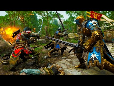 FOR HONOR 7 Minutes of Gameplay Developer Walkthrough 1080p (PS4 XBOX ONE PC)