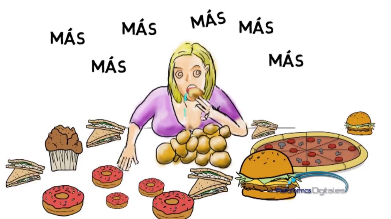 Es atracón comer un trastorno alimentario