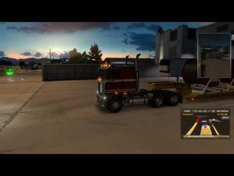 American Truck Simulator: Mobile, AL To Atlanta, GA