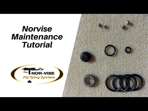 How To Maintain Your Norvise Fly Tying System