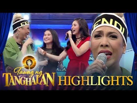Vice feels left out as Kim and a contender talk in Bisaya | Tawag ng Tanghalan