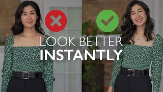 Easy Ways To INSTĄNTLY Look BETTER