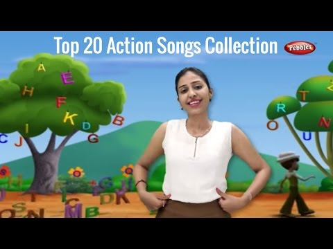 Top 10 Action Songs Collection 3 | Rhymes With Actions For Children | 3D Nursery Rhymes With Lyrics
