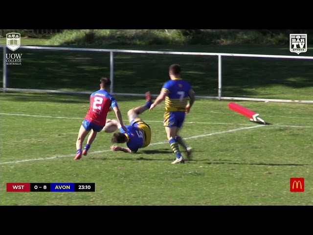 2019 IDRL 2nd Division Round 11 Highlights - Western Suburbs vs Avondale