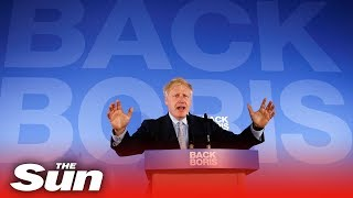 Boris Johnson launches Conservative leadership campaign
