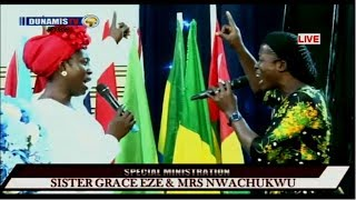 Mrs Osinachi Nwachukwu and Twin Sister Grace Eze (Live Ministration) #IMFFC2018
