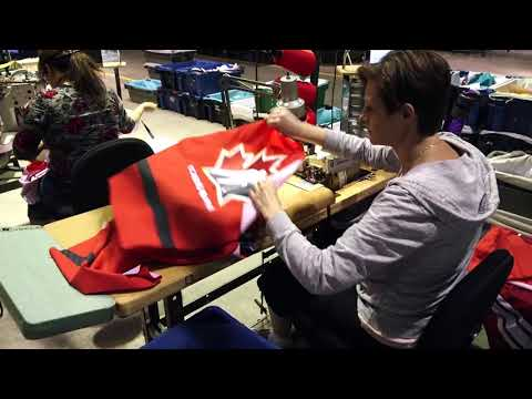 How Team Canada Jersey Are Made