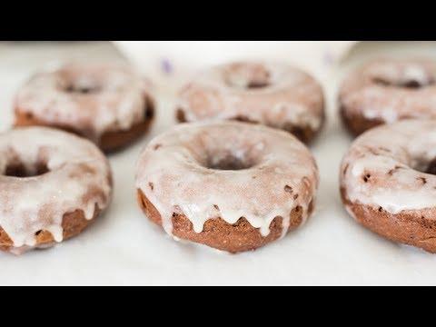 chocolate-coconut-flour-donuts-&-sour-cream-glaze