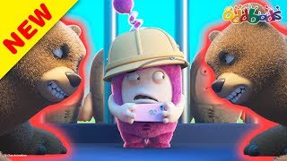 Oddbods | NEW | PARTYING WITH THE BEARS | Funny Cartoons For Kids