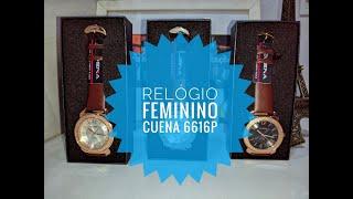 Review Relógio Feminino Cuena 6616P