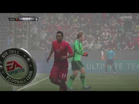 Portugal VS Germany Rio 2016 EA sports FIFA 16