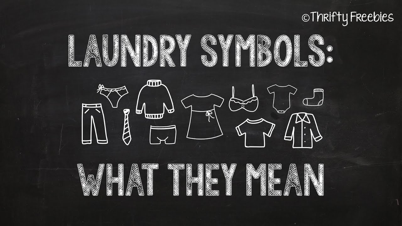 Laundry symbols what they mean youtube laundry symbols what they mean buycottarizona
