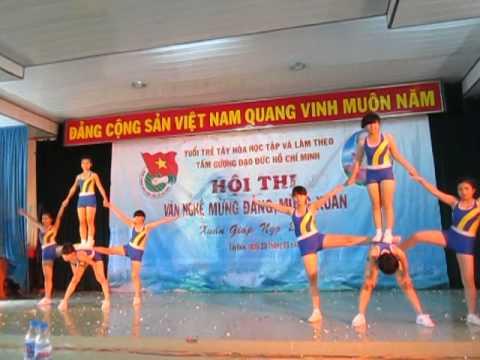 Aerobic Búp bê kon trai (THPT Lê Hồng Phong- Tây Hòa-Phú Yên.)
