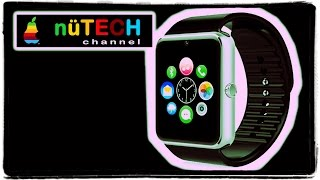 Apple Watch Clone - Unboxing & First Look- Aiwatch A8 Review