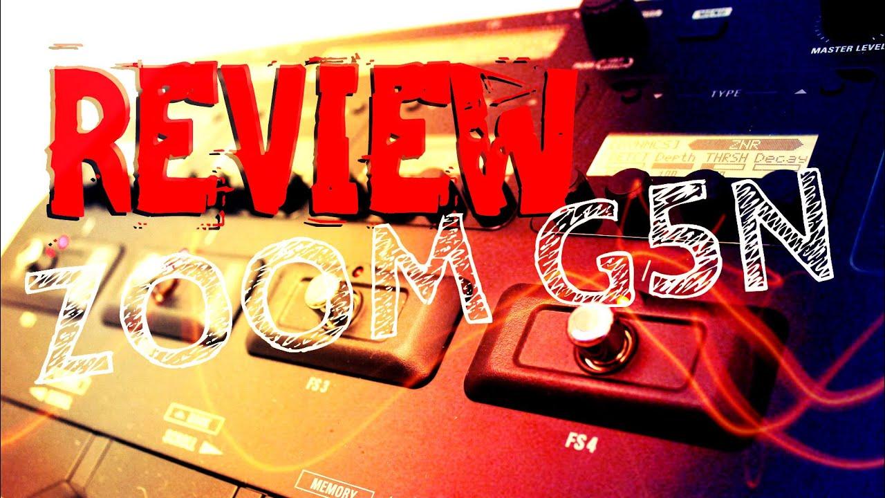 Download REVIEW ZOOM G5N | Alex Machado