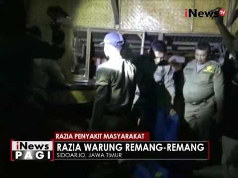 3 Pasangan Mesum Diamankan Petugas Dalam Razia Penyakit Masyarakat Di Bangkalan - INews Pagi 26/05